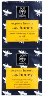 Apivita Express Beauty Honey máscara facial hidratante e nutritiva