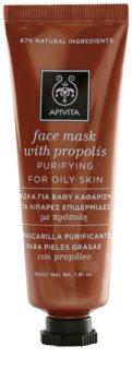 Apivita Express Beauty Propolis čisticí maska pro mastnou pleť