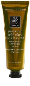 Apivita Express Beauty Olive gommage purifiant en profondeur visage