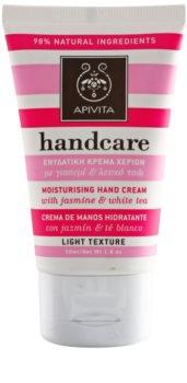 Apivita Hand Care Jasmine & White Tea Lichte Hydraterende Crème  voor de Handen