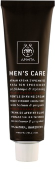 Apivita Men's Care Balsam & Propolis Gentle Shaving Cream