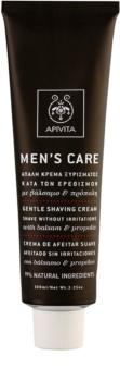 Apivita Men's Care Balsam & Propolis лек крем бръснене