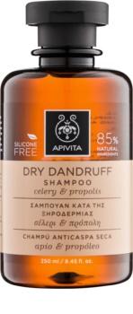 Apivita Holistic Hair Care Celery & Propolis Anti-Dandruff Shampoo