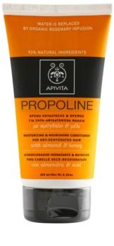 Apivita Holistic Hair Care Almond & Honey condicionador hidratante e nutritivo para cabelo seco