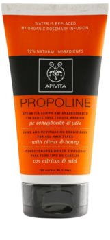 Apivita Holistic Hair Care Citrus & Honey condicionador revitalizante para todos os tipos de cabelos