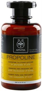 Apivita Holistic Hair Care Chamomile & Honey šampon pro každodenní použití