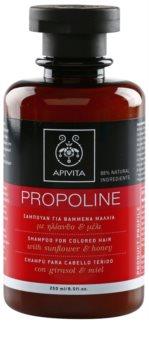Apivita Holistic Hair Care Sunflower & Honey Shampoo for Colored Hair
