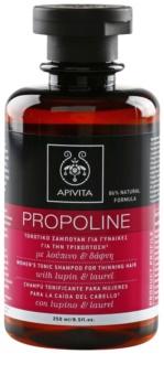 Apivita Holistic Hair Care Lupin & Laurel champú tonificante para la pérdida de densidad del cabello