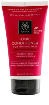 Apivita Holistic Hair Care Laurel & Honey Tonic Conditioner for Thinning Hair