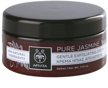 Apivita Pure Jasmine jemný peelingový krém