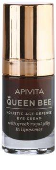 Apivita Queen Bee crema para contorno de ojos antiarrugas y antiojeras