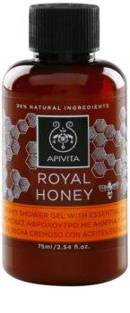Apivita Royal Honey gel de duche cremoso com óleos essenciais