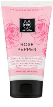Apivita Rose Pepper Sculpting Cream for Body