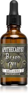 Apothecary 87 Vanilla & Mango ošetrujúci olej na bradu