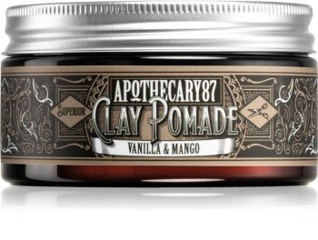 Apothecary 87 Vanilla & Mango pomada za lase z mat učinkom