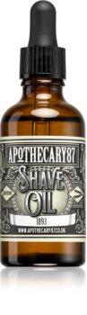 Apothecary 87 1893 масло за бръснене и брада