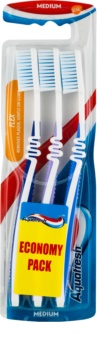 Aquafresh Flex Medium Toothbrushes