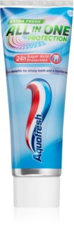 Aquafresh All In One Protection Extra Fresh dentifricio per un alito fresco