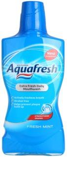 Aquafresh Fresh Mint apă de gură pentru o respirație proaspătă