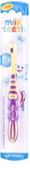 Aquafresh Milk Teeth escova de dentes para crianças