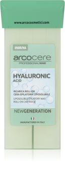 Arcocere Professional Wax Hyaluronic Acid cera para depilação roll-on