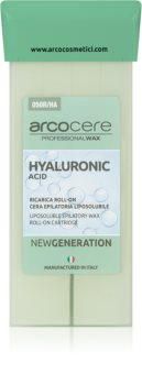 Arcocere Professional Wax Hyaluronic Acid Κερί Αποτρίχωσης roll - on
