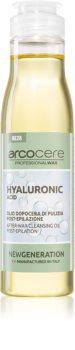 Arcocere After Wax  Hyaluronic Acid óleo de limpeza apaziguador pós-depilação