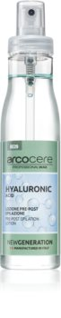 Arcocere After Wax  Hyaluronic Acid lozione tonica prima dell'epilazione
