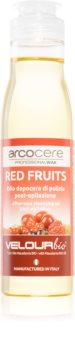 Arcocere After Wax  Red Fruits óleo de limpeza apaziguador pós-depilação