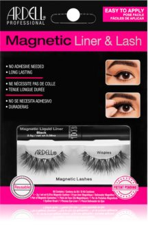 Ardell Magnetic Liner & Lash Cosmetic Set Wispies (for Eyelashes) type