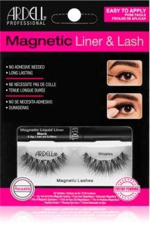 Ardell Magnetic Liner & Lash kozmetični set Wispies (za trepalnice) vrsta