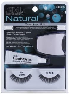 Ardell Natural Fästbara ögonfransar med lim