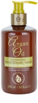 Argan Oil Hydrating Nourishing Cleansing tápláló folyékony szappan argán olajjal