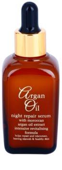 Argan Oil Revitalise Cares Protect cuidado de noite renovador com óleo de argan