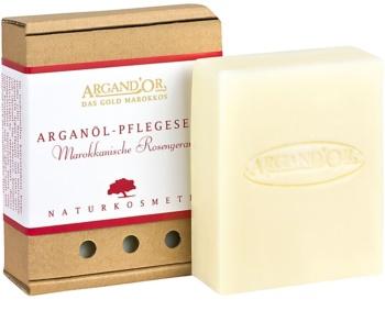 Argand'Or Care Arganseife mit dem Duft der marokkanischen Rose