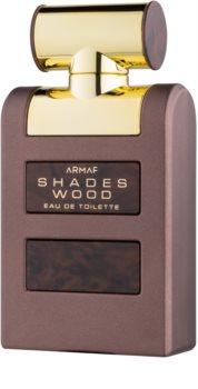 Armaf Shades Wood eau de toilette per uomo