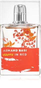 Armand Basi Happy In Red Eau de Toilette pentru femei