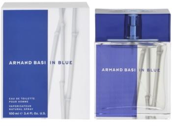 Armand Basi In Blue eau de toilette pentru bărbați