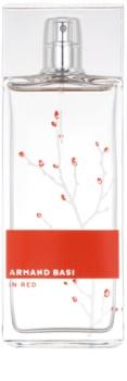 Armand Basi In Red Eau de Toilette para mulheres