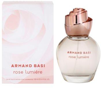 Armand Basi Rose Lumiere eau de toilette para mulheres 100 ml