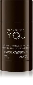 Armani Emporio Stronger With You deodorante stick per uomo