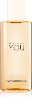 Armani Emporio Because It's You gel de duș pentru femei
