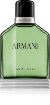 Armani Eau de Cèdre eau de toillete για άντρες