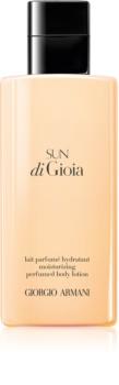 Armani Sun di  Gioia telové mlieko pre ženy