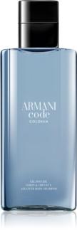 Armani Code Colonia gel de duche para homens