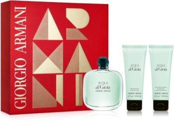 Armani Acqua di Gioia darčeková sada XIV. pre ženy