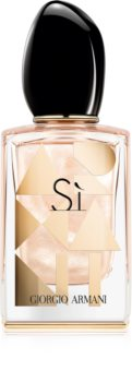 Armani Sì Nacre Edition eau de parfum pentru femei editie limitata