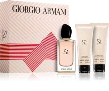 Armani Sì ajándékszett l. hölgyeknek