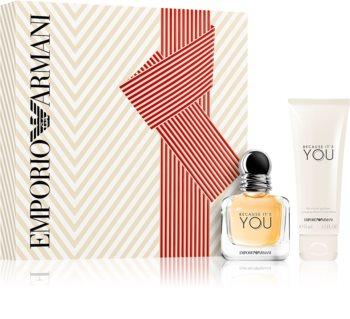 Armani Emporio Because It's You set cadou II. pentru femei