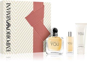 Armani Emporio Because It's You set cadou I. pentru femei